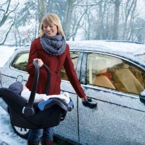 PKW Standheizung Mutter und Kind